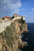 Dubrovnik city walls — 图库照片
