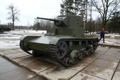 T-26, Russian light tank, WW2 — Foto de Stock