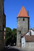 Tallinn, eski şehir — Stok fotoğraf