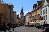 Tallinn, Old city — Foto Stock