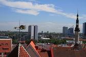 Tallinn, stare miasto — Zdjęcie stockowe