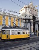 Lisboa tram — Stock Photo