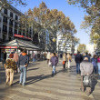 Las ramblas — Stock Photo