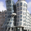 Frank Gehry building in Prague. — Stock Photo