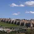 Avila's wall, spain — Stock Photo