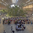Railway station of Atocha in Madrid, spain — Stock Photo
