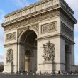 Arc de triomphe — Stock Photo #14797197
