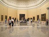 Interiér muzea Prado, madrid — Stock fotografie