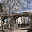 Pablo Picasso square in Ceret — Stock Photo