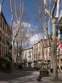 View of Boulevard Maréchal Joffre in Ceret — Stock Photo