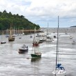 Stock Photo: Boats at Conwy Bay