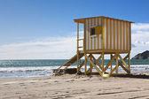 Beach hut — Stock Photo