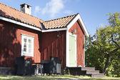 Typical Swedish house — Stockfoto