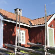 Stock Photo: Typical Swedish house