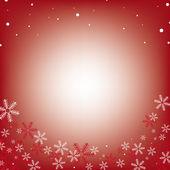雪花圣诞架 — 图库矢量图片