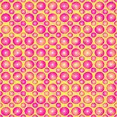Nastolatek wzór różowe kulki. — Zdjęcie stockowe