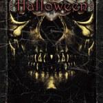 Halloween ciemny plakat szablon — Zdjęcie stockowe
