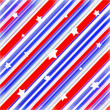 American Colors Stars Background — Stock Photo