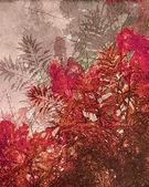 Decorative Leaves Artistic Design — Stock Photo