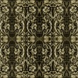 Ornamental Pattern Background - Stock Photo