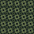 Dark Stars Pattern - Stock Photo