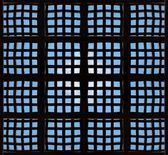Windows Ceiling Mockup — Stock Photo