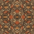 Luxury royal ornamental pattern - Stock Photo