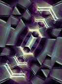 Sfondo futuristico — Foto Stock