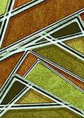 Vícebarevné geometrická abstraktní pozadí — Stock fotografie