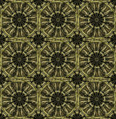 Ornamental wheel grunge pattern — Stock Photo
