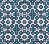 Grunge Fabric Floral Pattern — Stock Photo