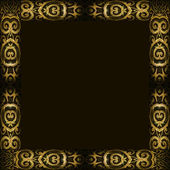 Arabesque Ornament Frame — Stock Photo