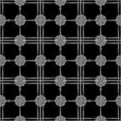 幾何学的な銀の図形パターン グリッド — ストック写真