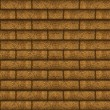 Wood Brick Wall Background — Stock Photo