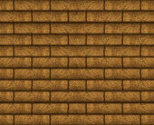 Wood Brick Wall Background — Stockfoto