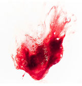 Sputare sangue — Foto Stock
