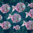 Group of fishes Illustration — Stock Photo #29931525
