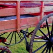 Stock Photo: Cart Detail in Field