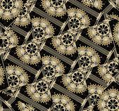 Intricate Mechanic Concept Pattern — Stock Photo