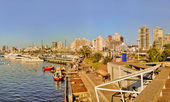 Punta del Este Port View — Stockfoto