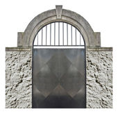 Isolé vieille porte — Photo