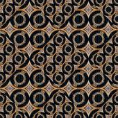 Futuristic Circles Abstract Pattern — Stock Photo
