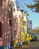 Beroemde straat van la boca in buenos aires — Stockfoto