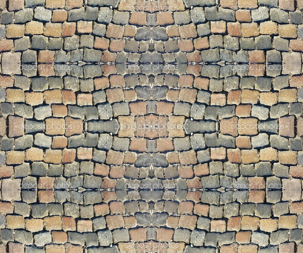 Pflaster Steine Muster : Pflastersteine Muster — Stockfoto © DanFLCreativo #33822627