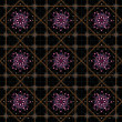 Luxury Jewels Ornament Pattern — Stock Photo