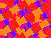 Multicolored Shapes Pattern — Stock Photo