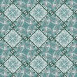 Geometric Diamonds Motif Pattern — Stock Photo #34830191
