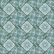 Geometric Diamonds Motif Pattern — Stock Photo