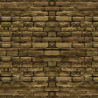 Brick Wall Wide Screen Background — Stock Photo