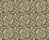 Wood Ornament Pattern — Stock Photo